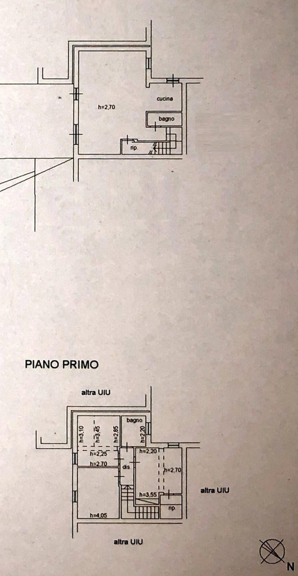 Planimetria 2/3 per rif. 8641