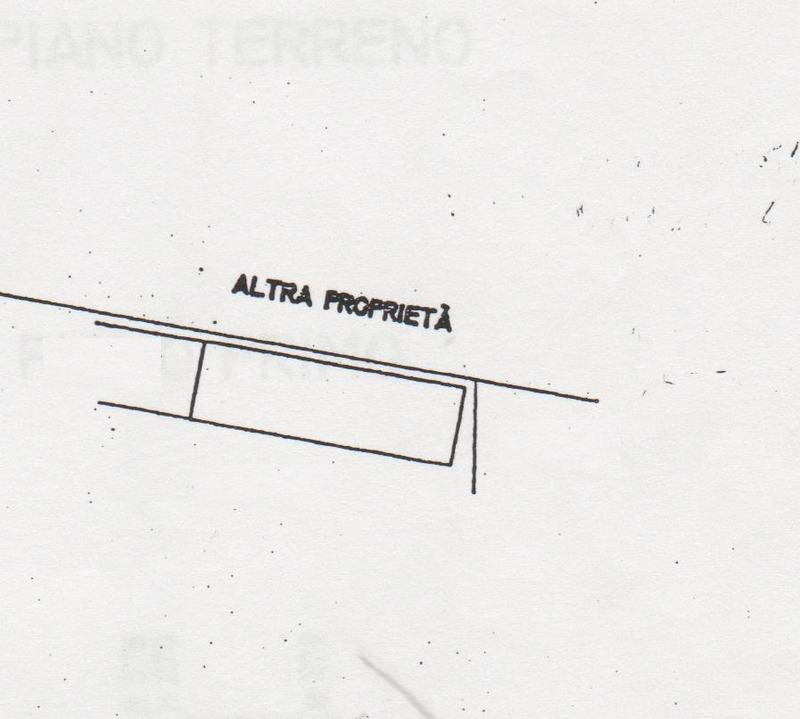 Planimetria 2/3 per rif. 7520-02