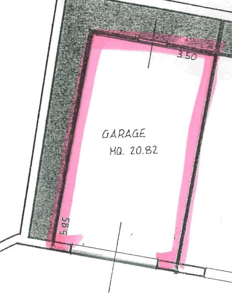 Planimetria 2/2 per rif. 7074-04