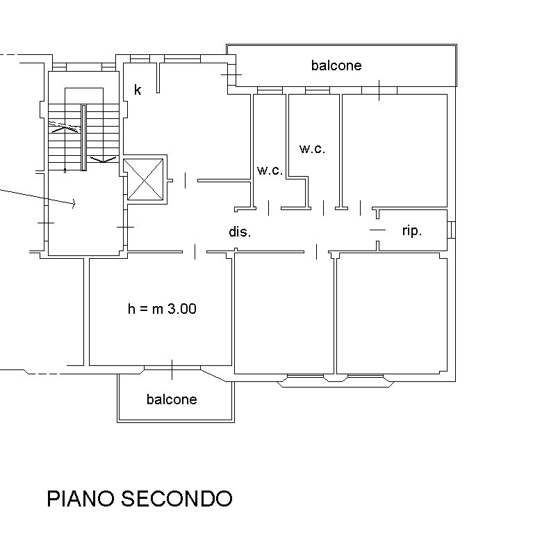 Planimetria 2/2 per rif. 8668