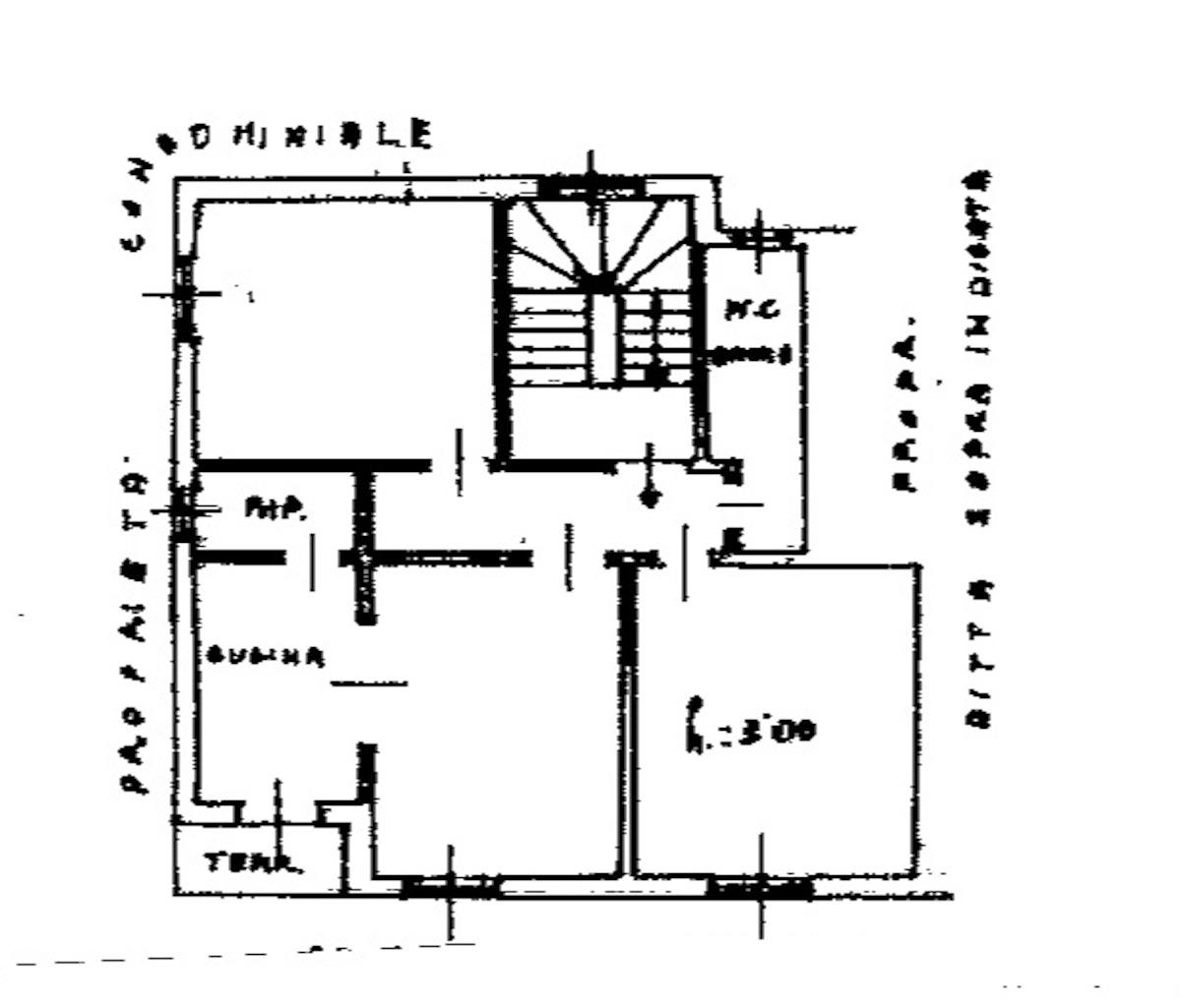 Planimetria 1/1 per rif. 8677