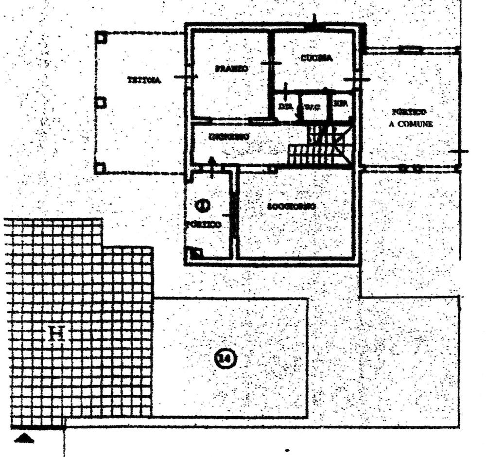 Planimetria 1/5 per rif. 8635