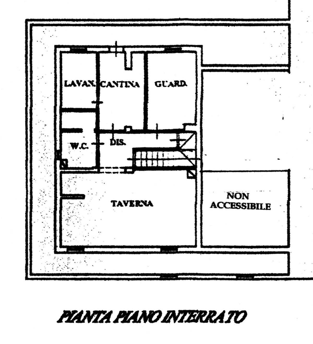 Planimetria 3/5 per rif. 8635