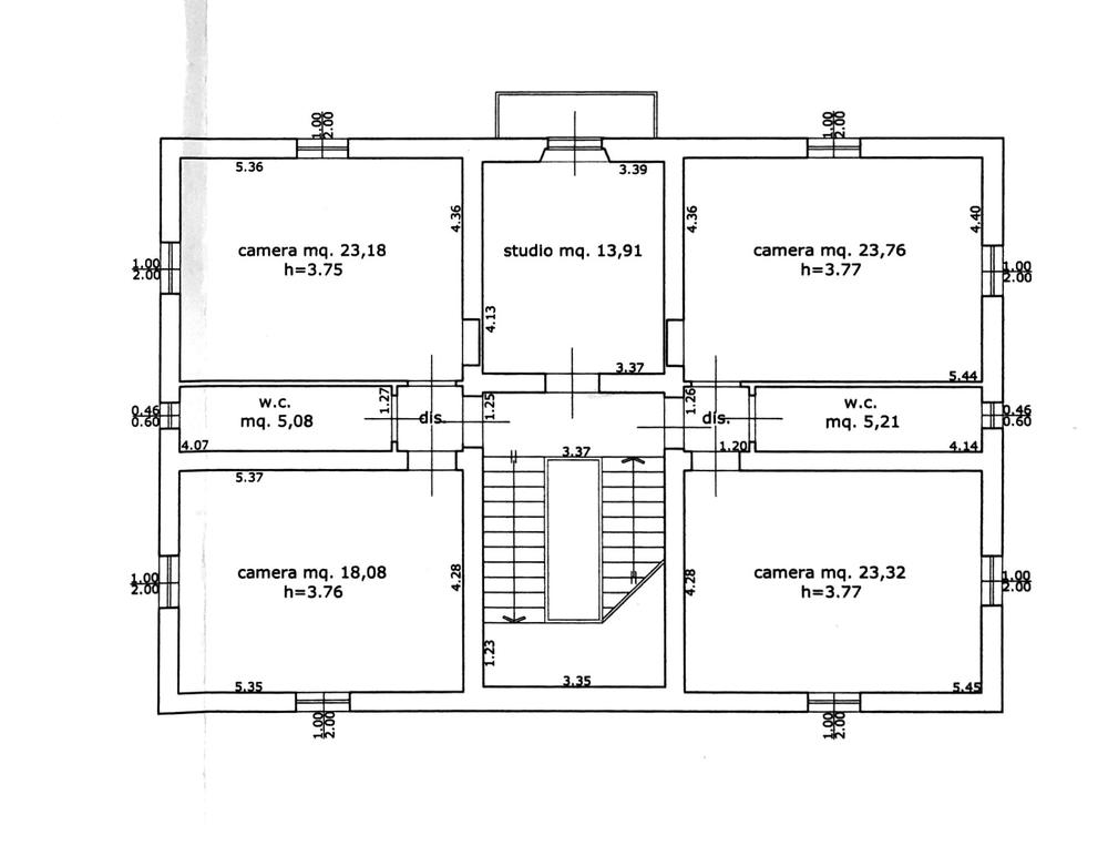 Planimetria 2/4 per rif. 8695