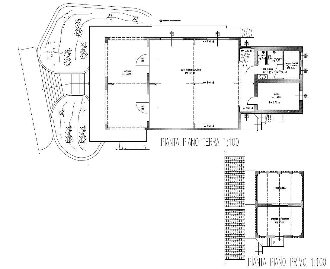 Planimetria 2/2 per rif. 8698