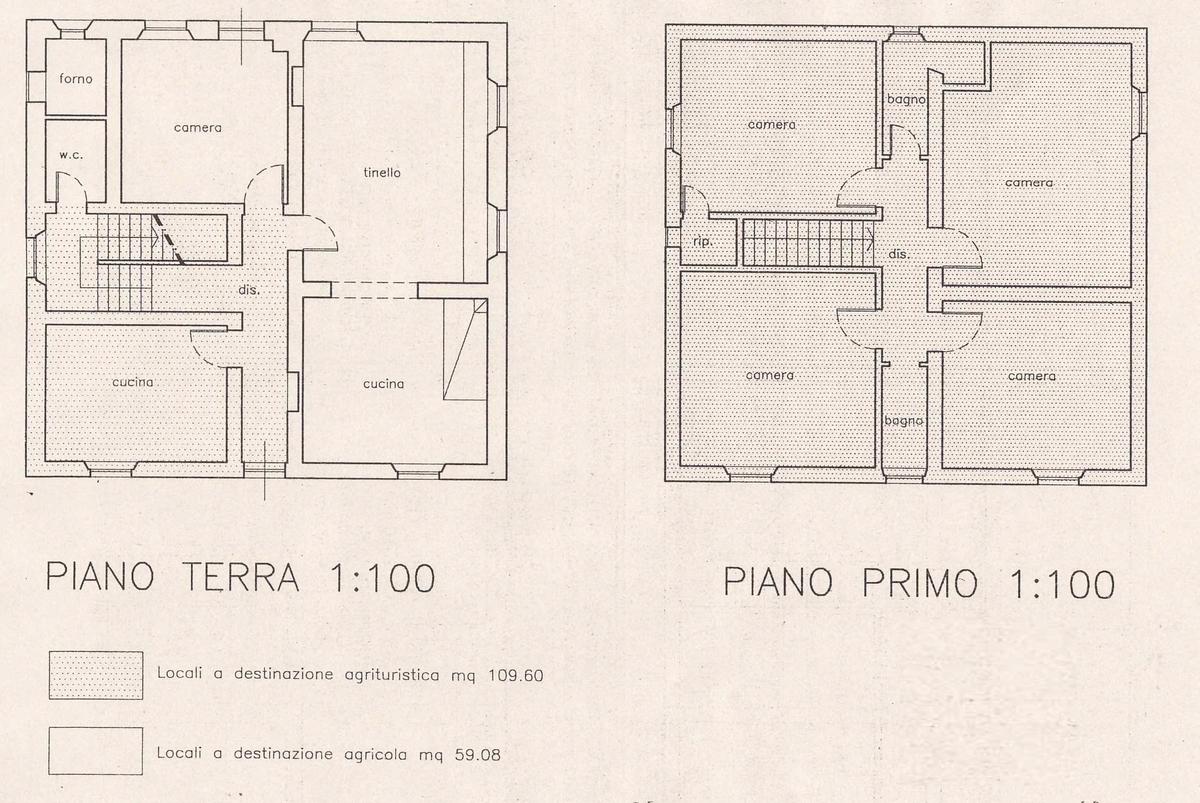 Planimetria 1/2 per rif. 8698