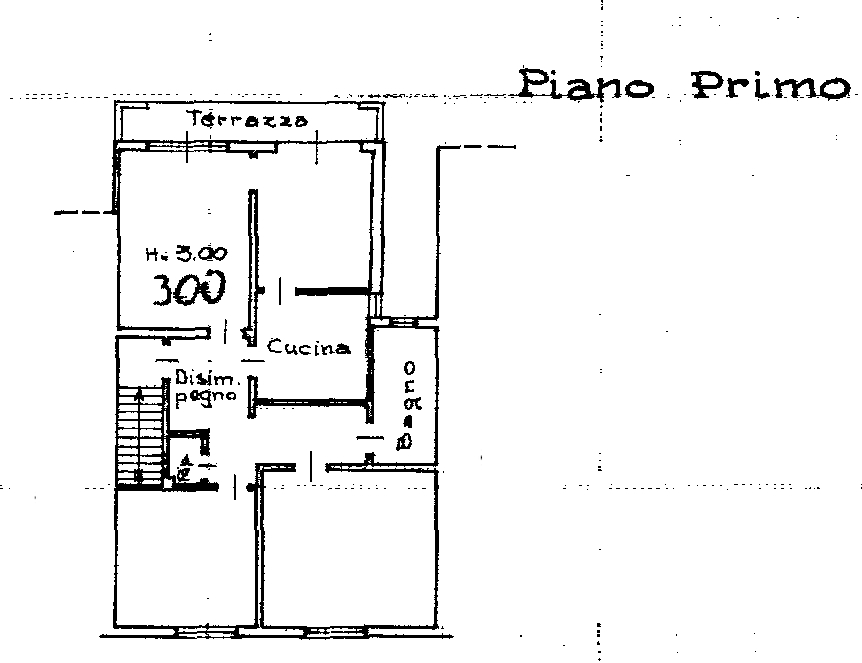 Planimetria 1/2 per rif. 8694