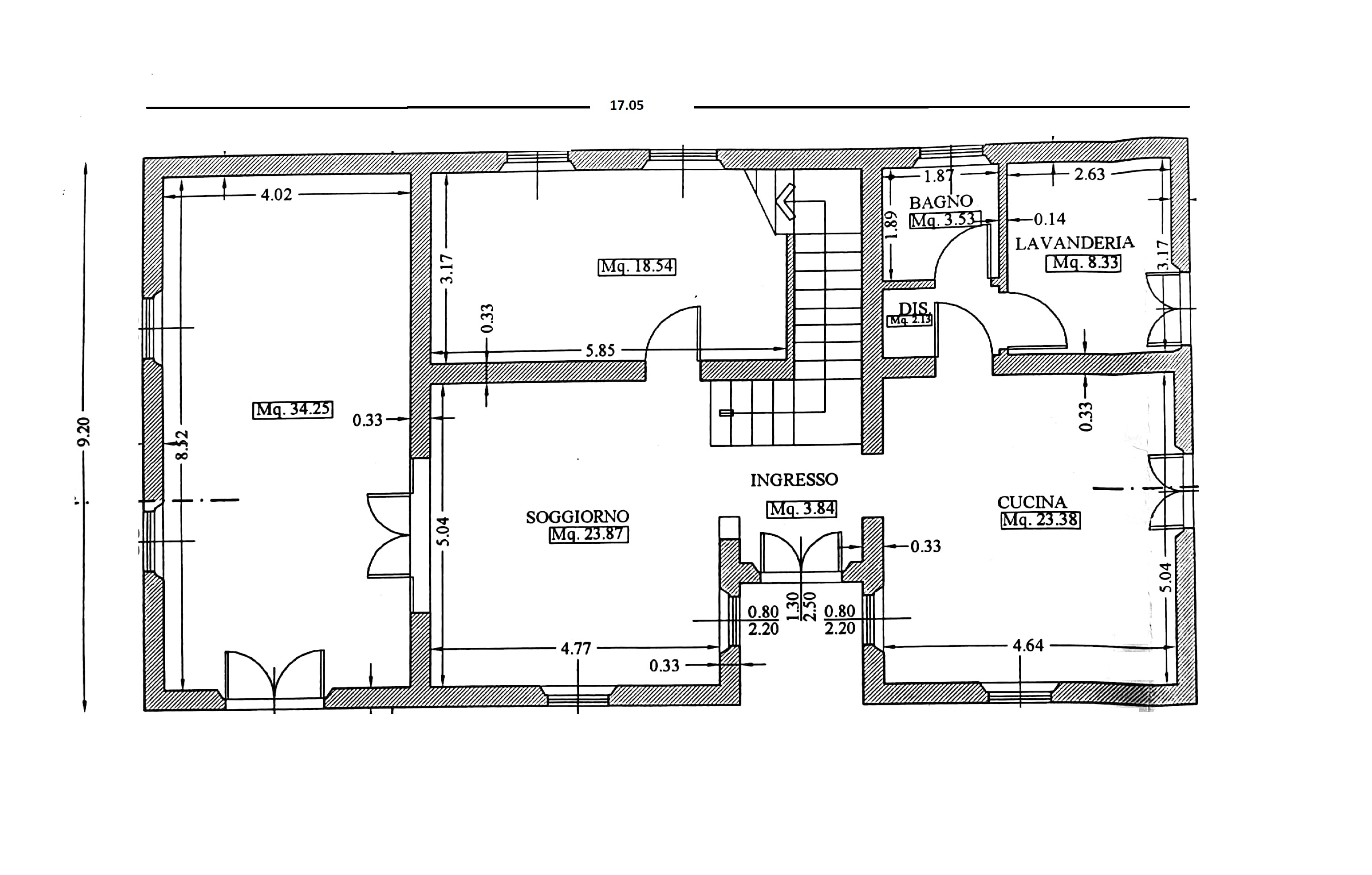 Plan 1/3 for ref. 144
