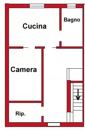 Planimetria 2/2 per rif. DE60