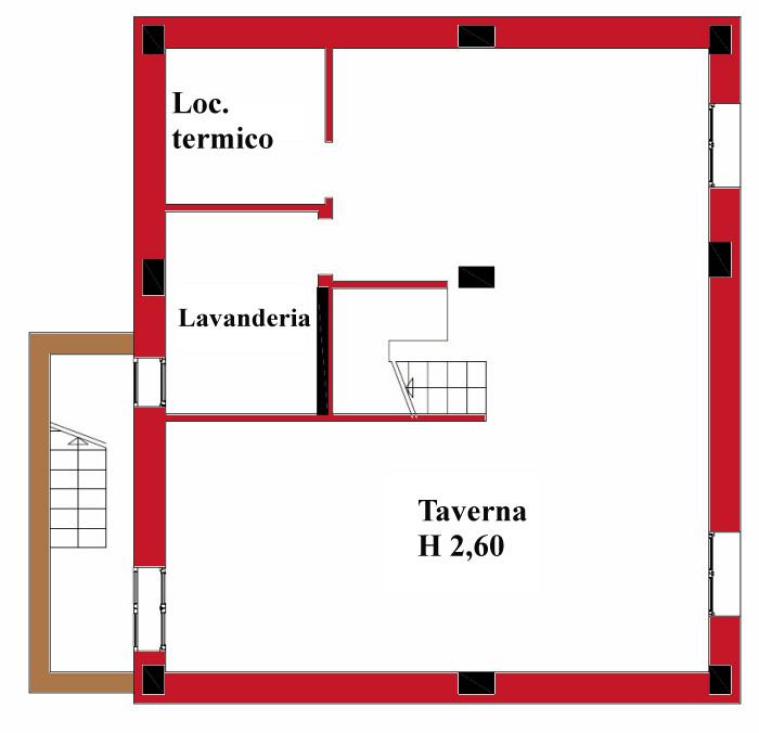 Planimetria 2/2 per rif. DE43