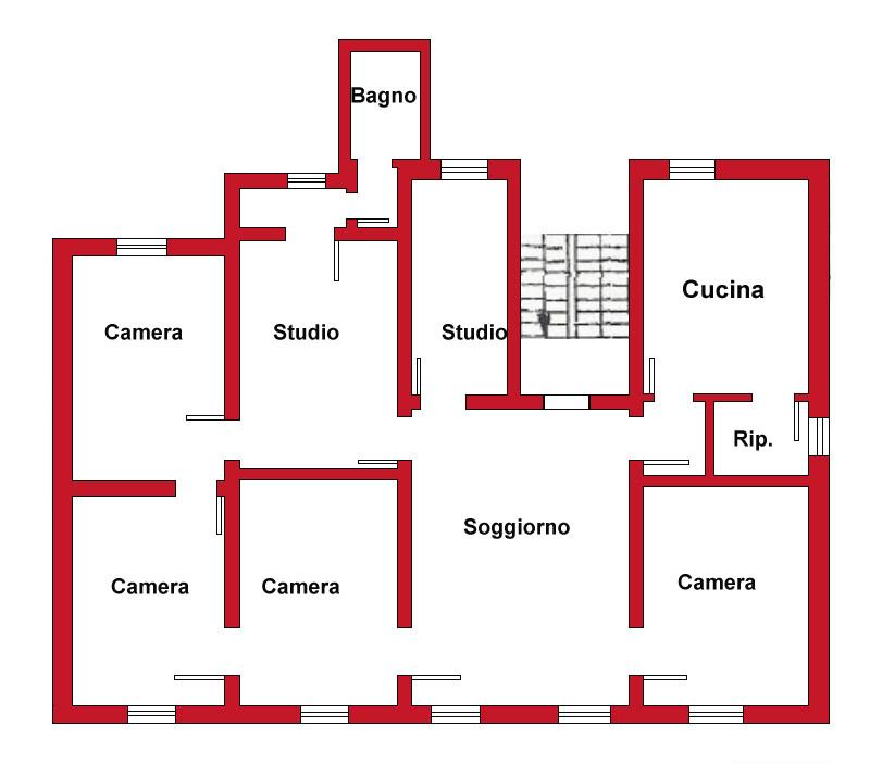 Planimetria 1/1 per rif. DE53
