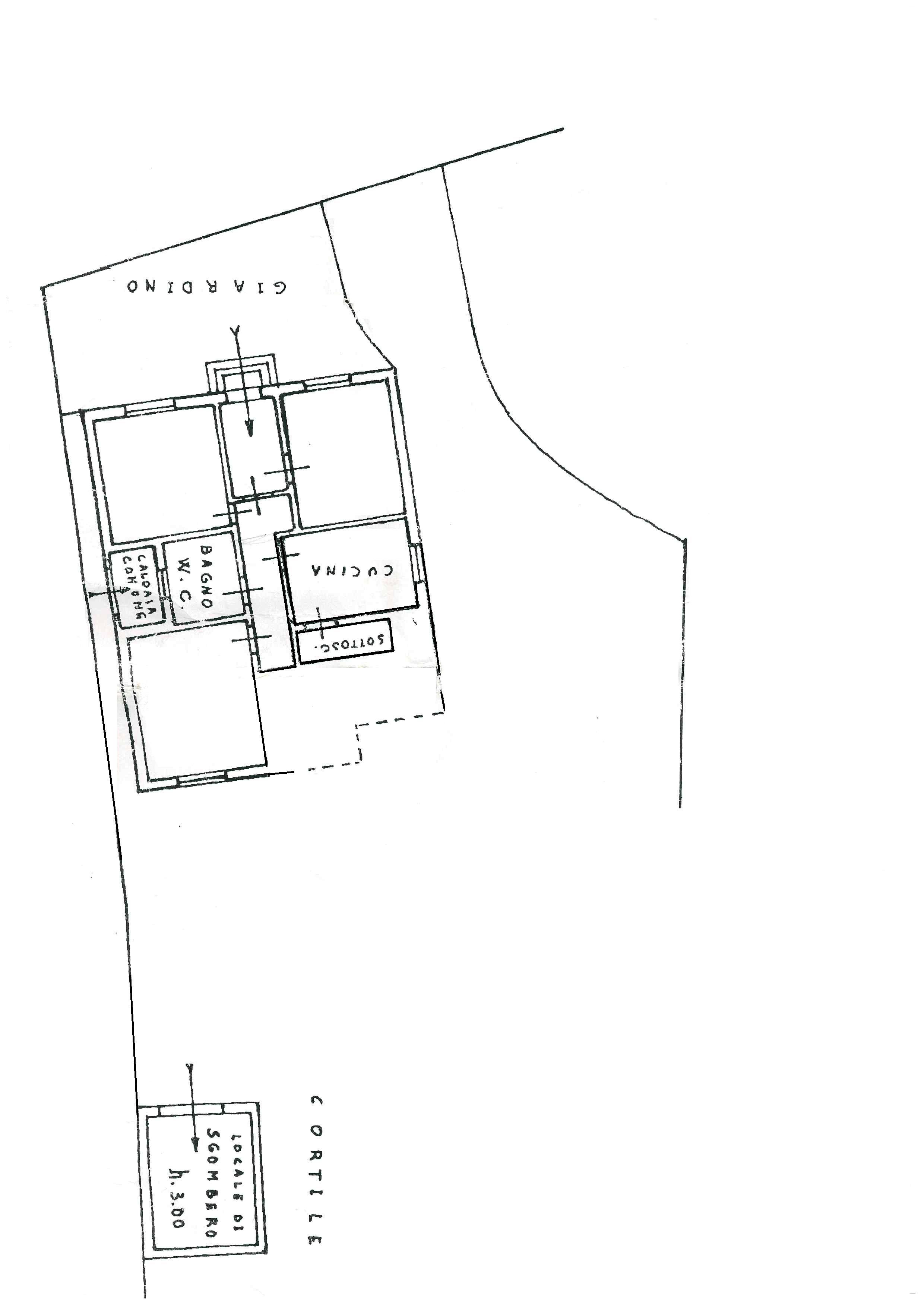 Planimetria 1/1 per rif. DE107