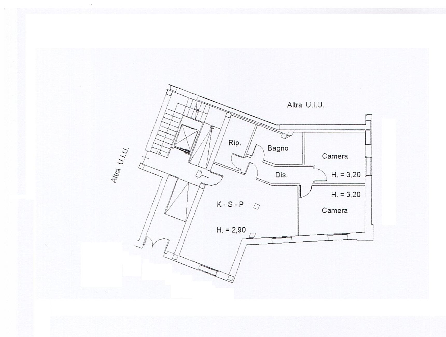 Planimetria 2/2 per rif. DE20