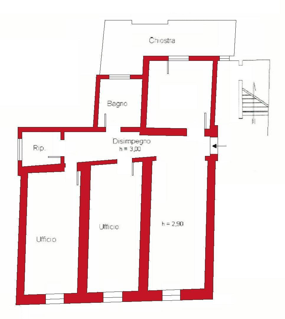 Planimetria 1/1 per rif. A1002
