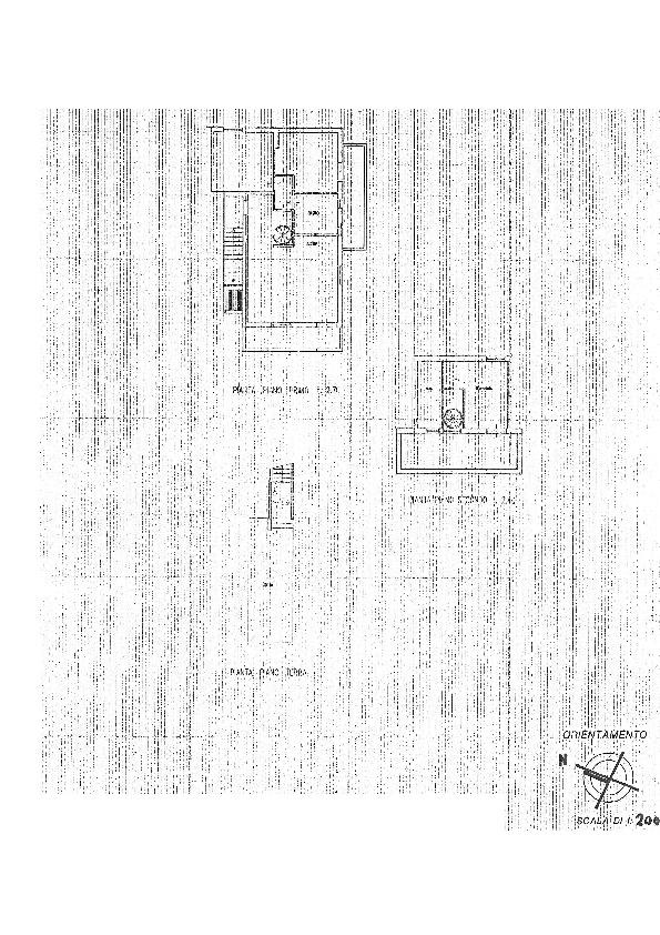 Planimetria /1 per rif. 2382