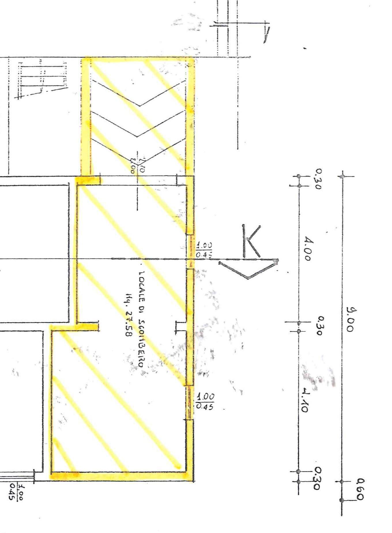 Planimetria 2/2 per rif. AR283