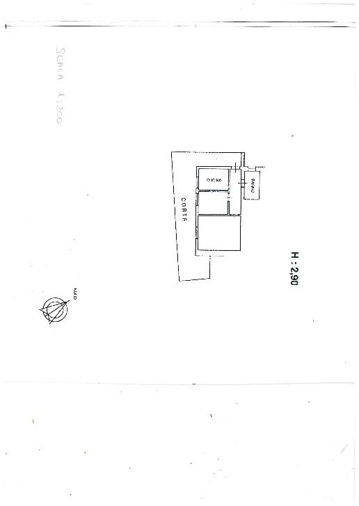 Planimetria 1/1 per rif. 581