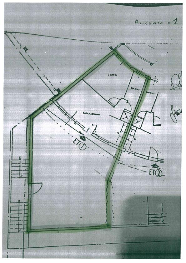 Planimetria 1/1 per rif. 1034