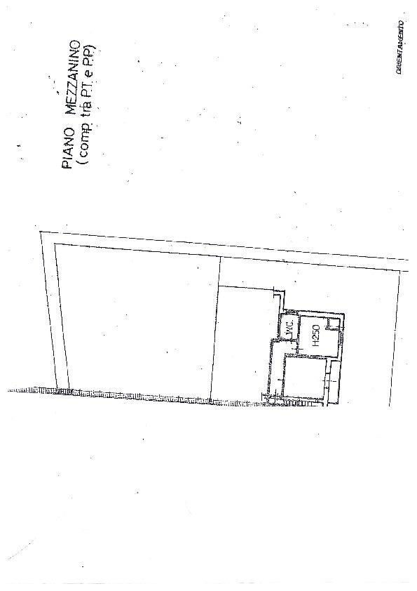 Planimetria 1/1 per rif. 1058