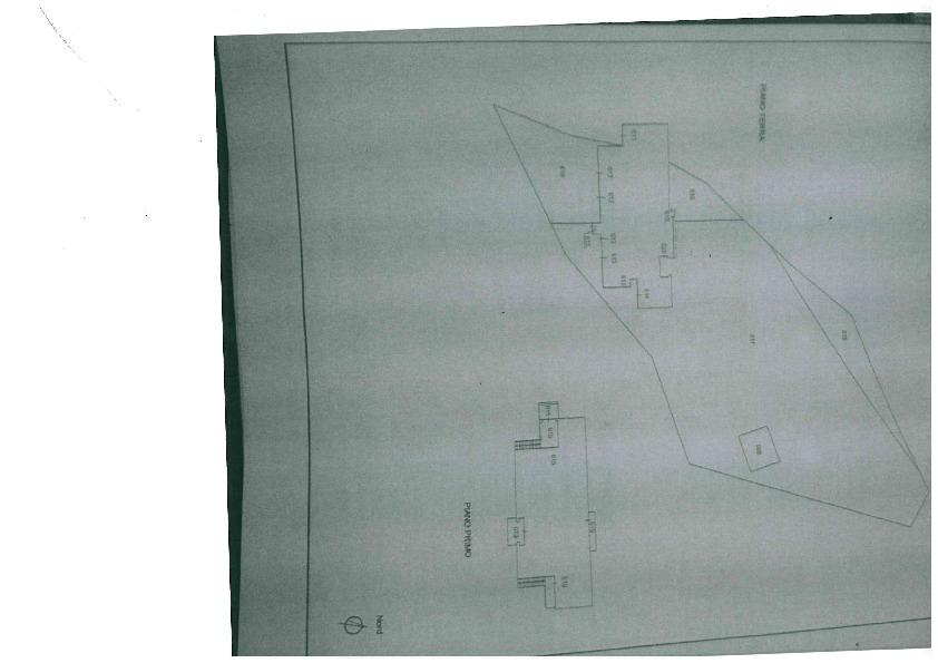 Planimetria 3/5 per rif. 1081