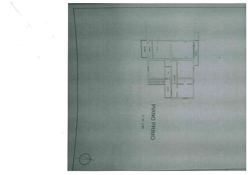 Planimetria 1/5 per rif. 1081