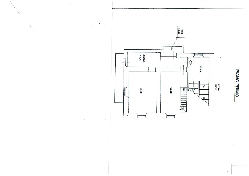 Planimetria 2/2 per rif. 1086