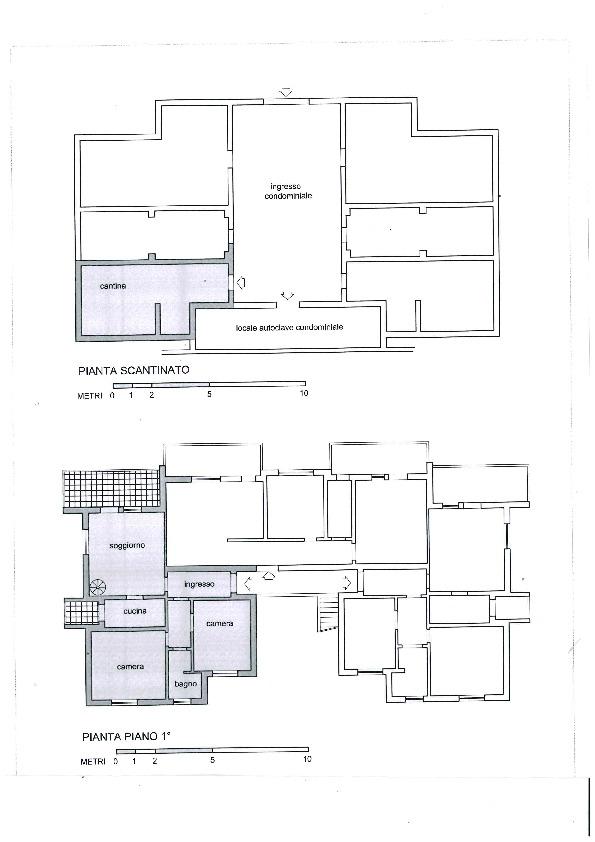 Planimetria 1/2 per rif. 1104