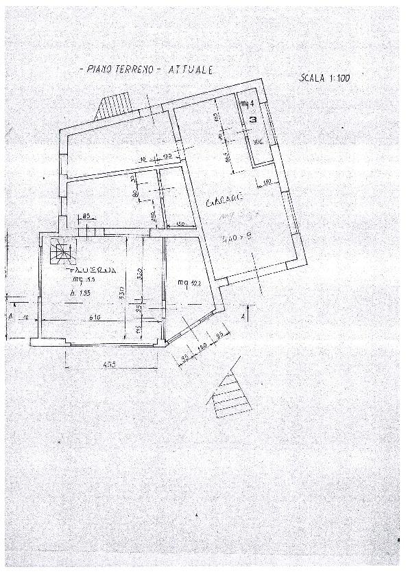 Planimetria 1/2 per rif. 1137