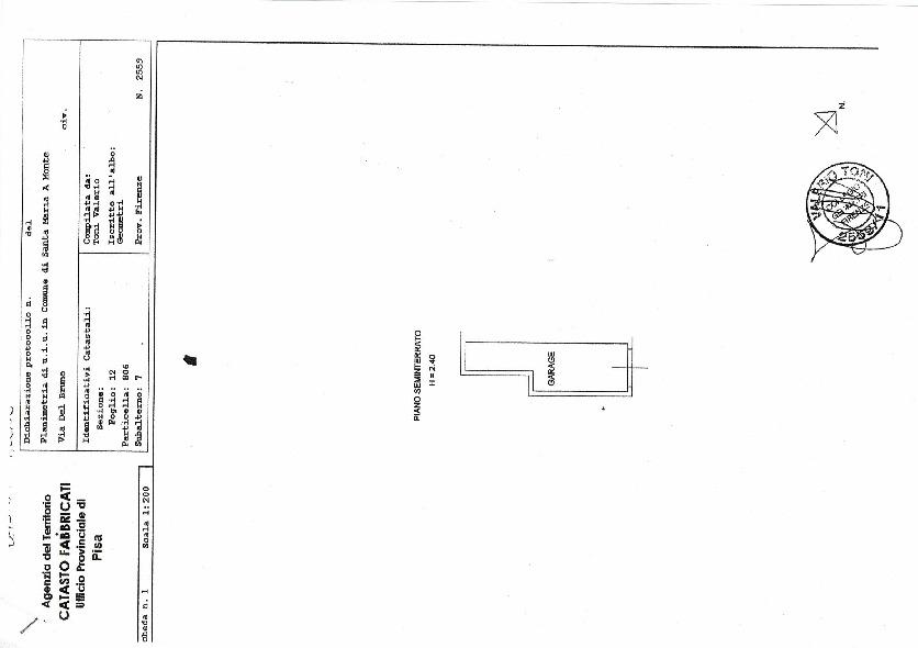 Planimetria 1/1 per rif. 45