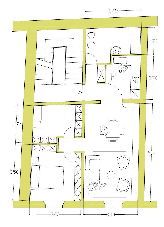 Planimetria 1/1 per rif. 860