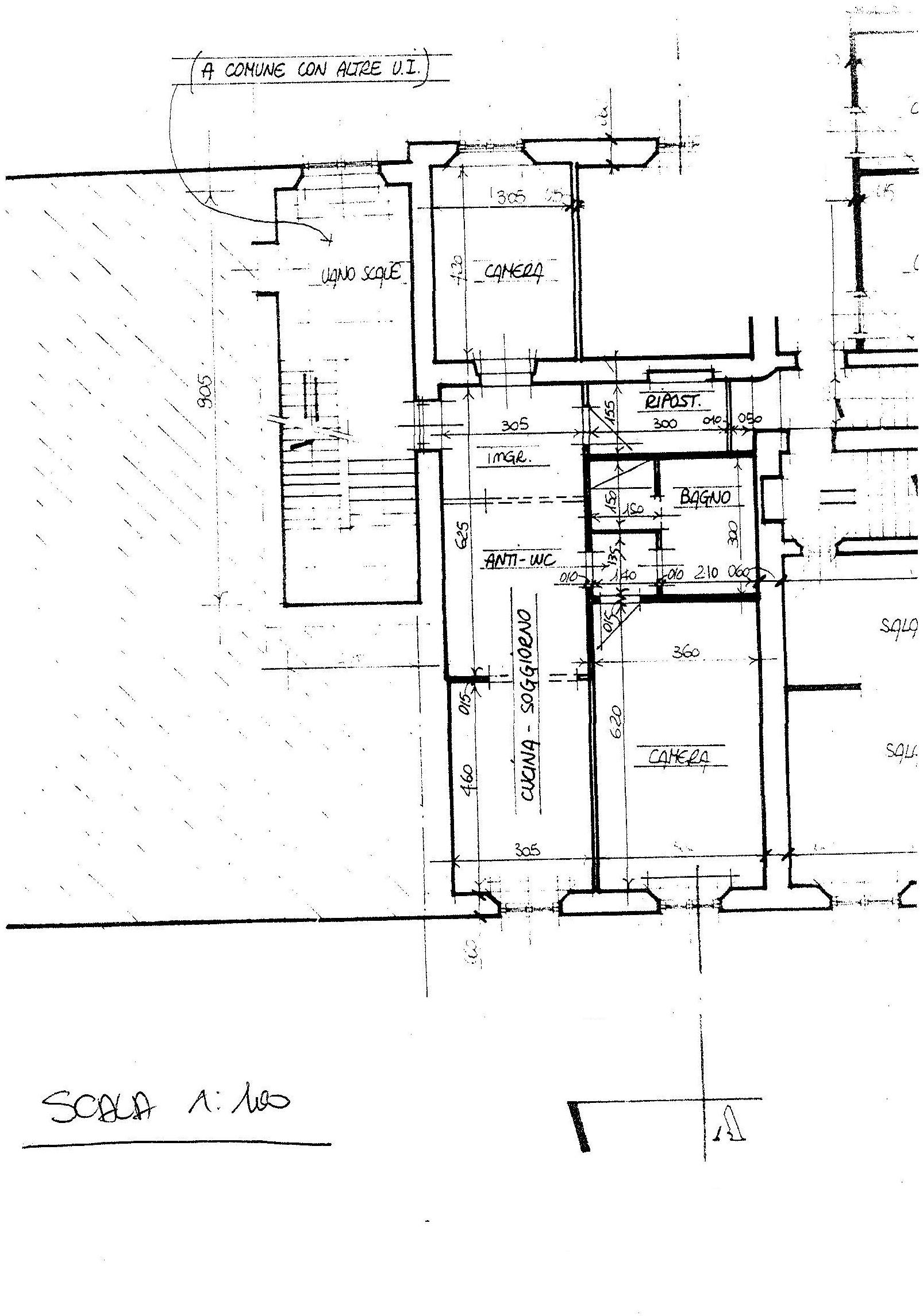 Planimetria 1/1 per rif. 883