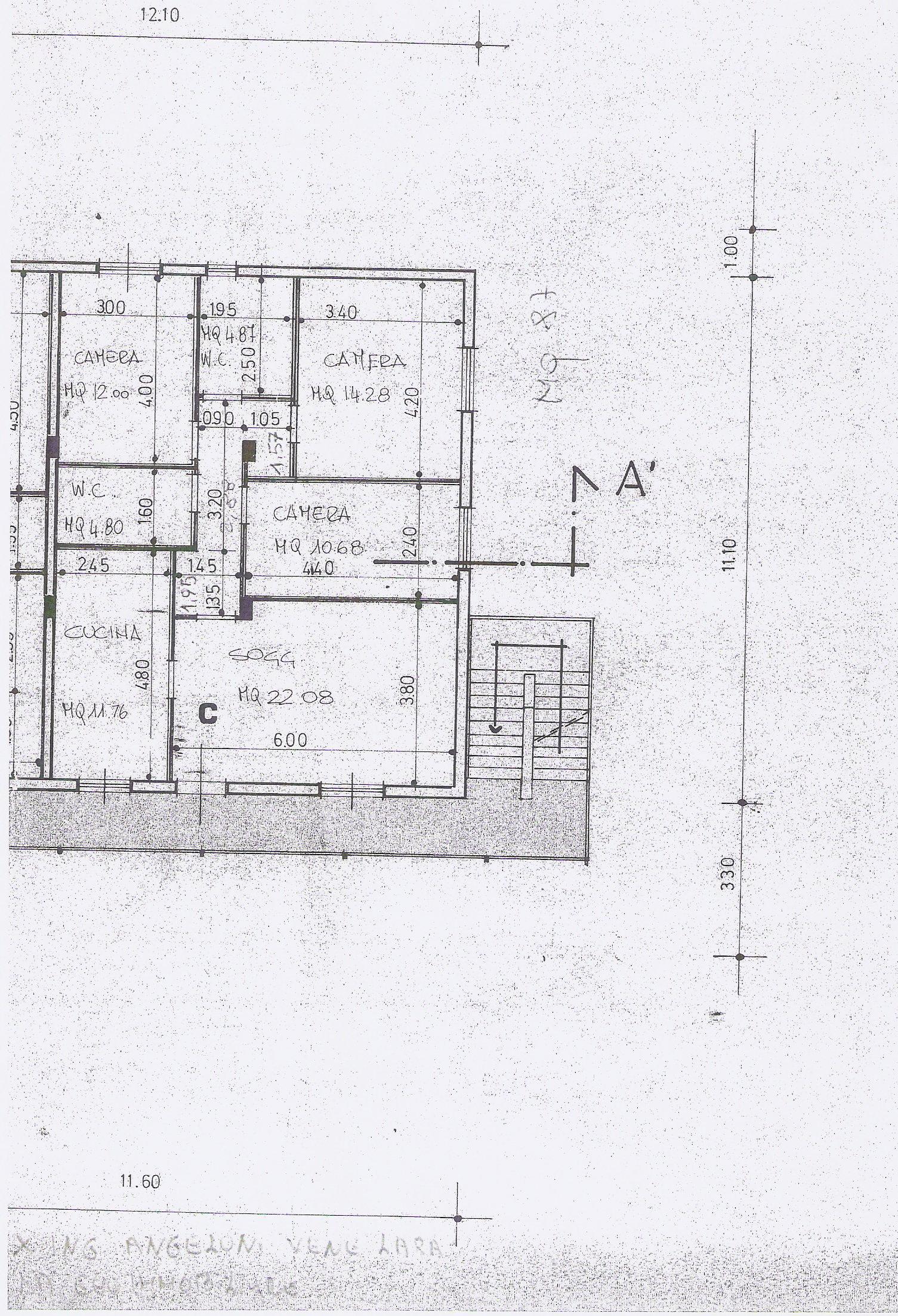Planimetria 1/1 per rif. 16.56