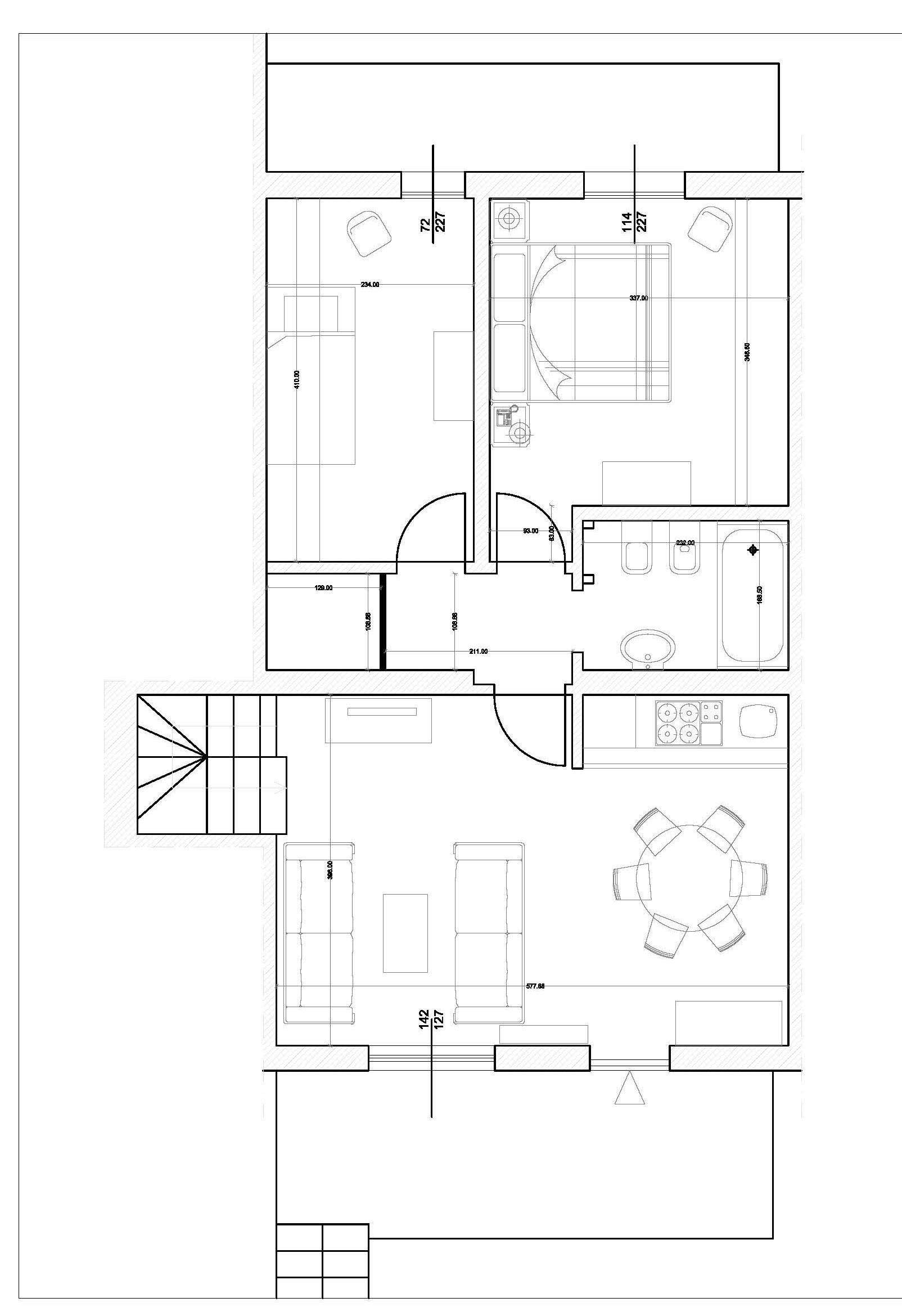 Planimetria 1/2 per rif. 17.49