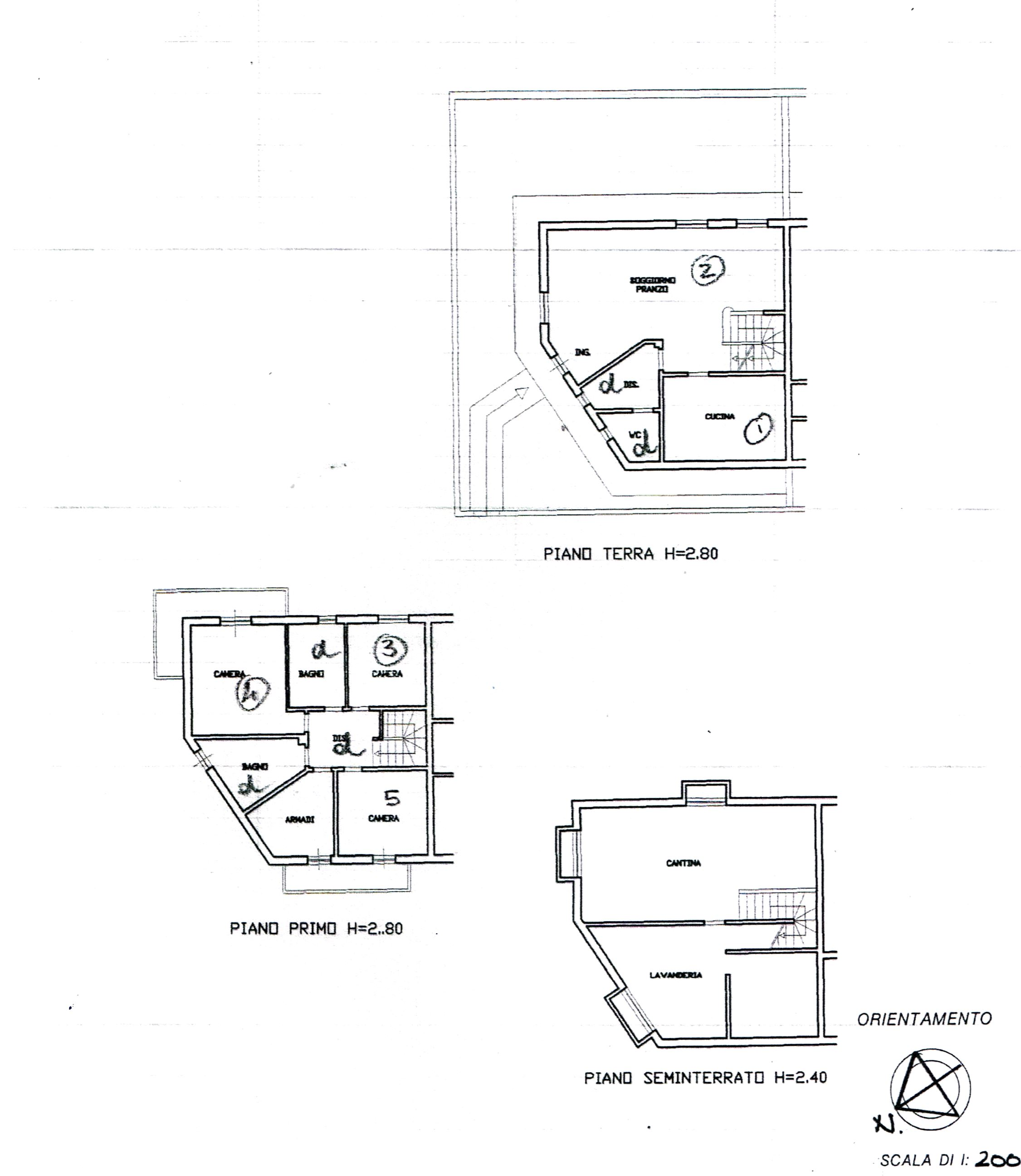 Planimetria 1/1 per rif. 15.126