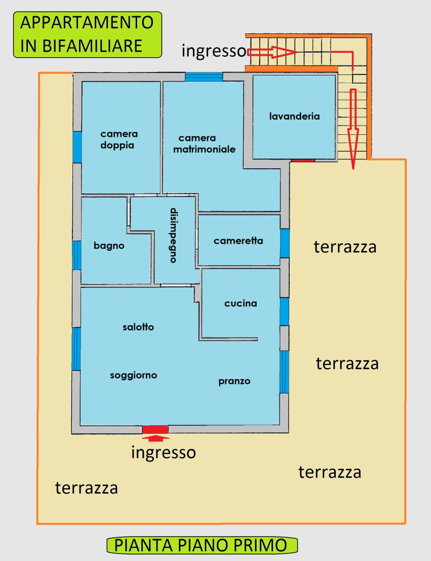 Planimetria 1/1 per rif. 16.60
