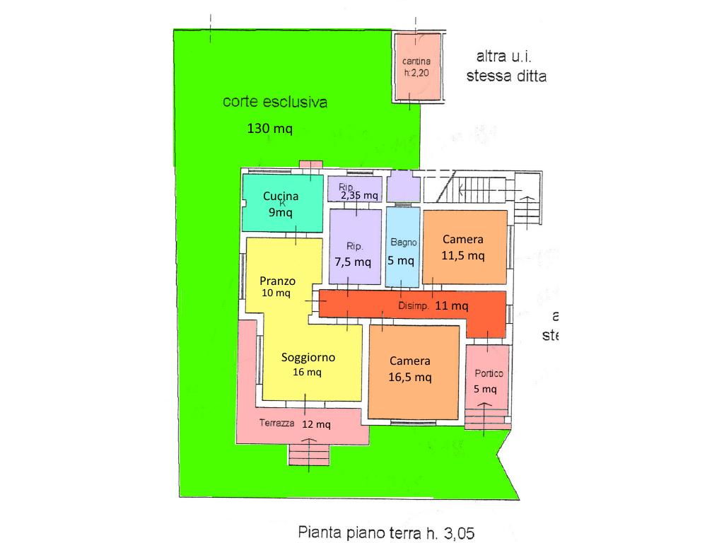 Planimetria 1/1 per rif. 16.63