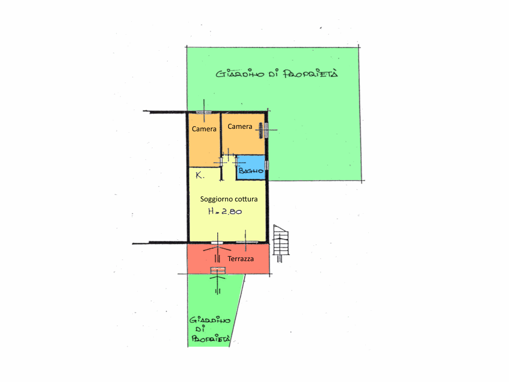 Planimetria 1/1 per rif. 16.87
