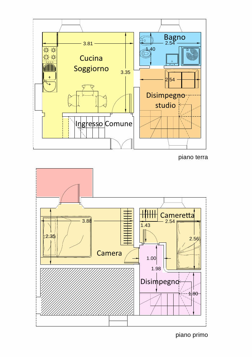 Planimetria 1/1 per rif. 18.05