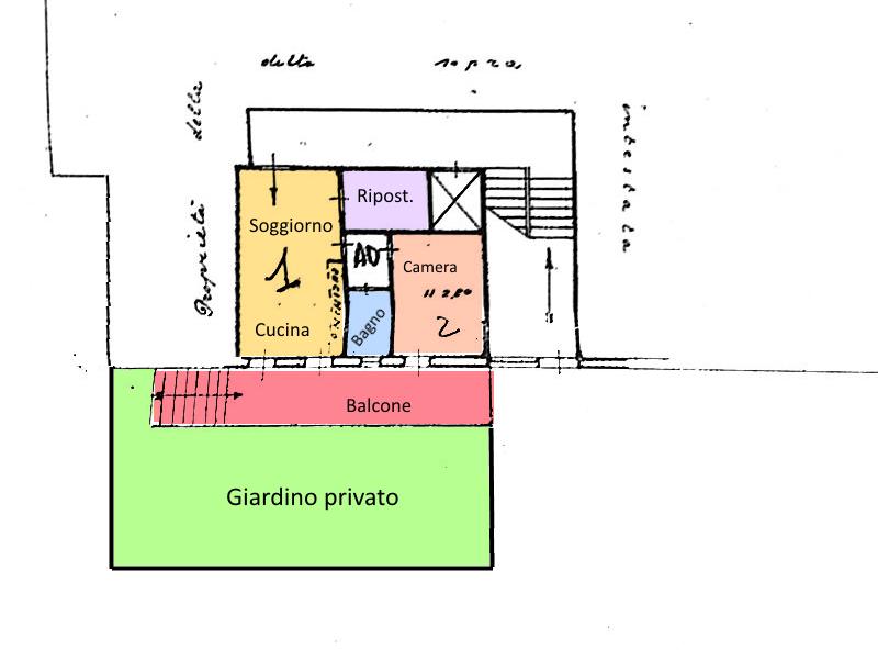Planimetria 1/1 per rif. 18.13