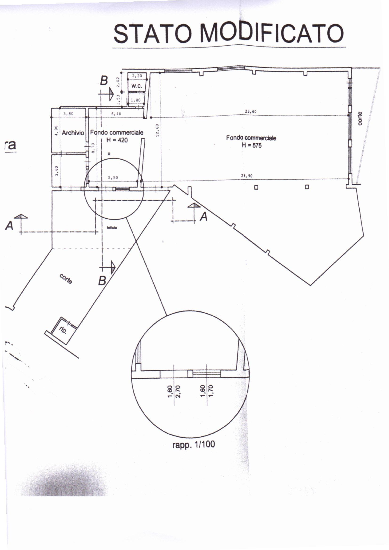 Planimetria /1 per rif. 305