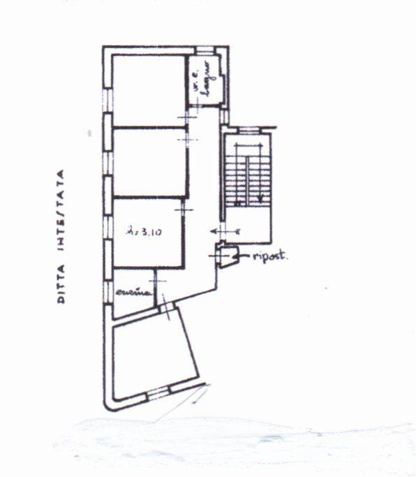 Planimetria /1 per rif. 353