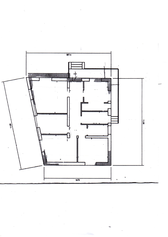 Planimetria /1 per rif. 463