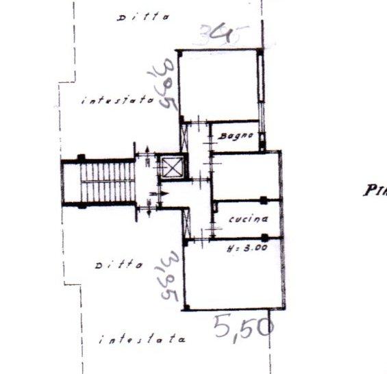 Planimetria /1 per rif. 526