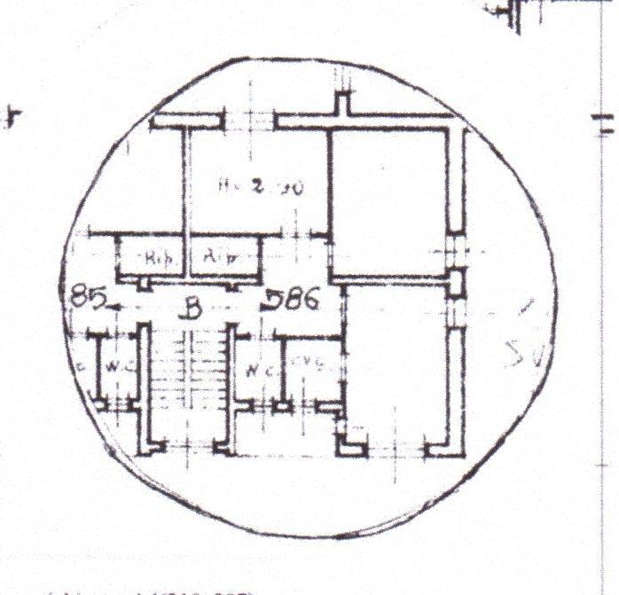 Planimetria /1 per rif. 612