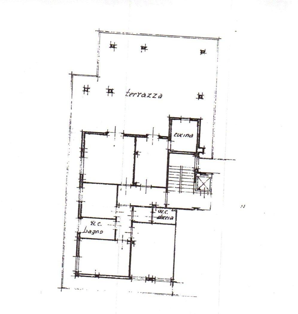 Planimetria /1 per rif. 615