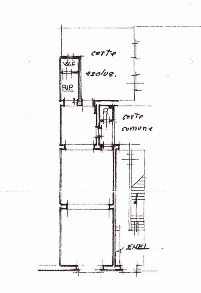Planimetria /1 per rif. 622