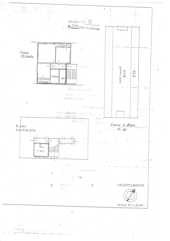 Planimetria /1 per rif. 626