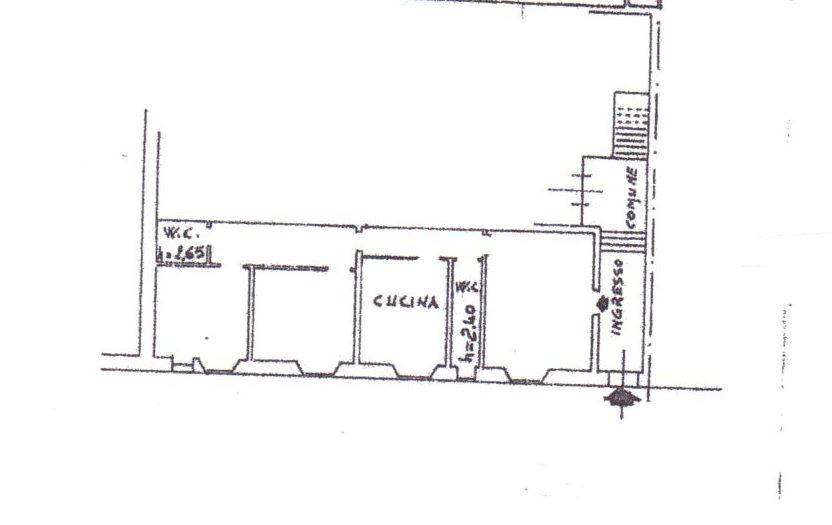 Planimetria /1 per rif. 652