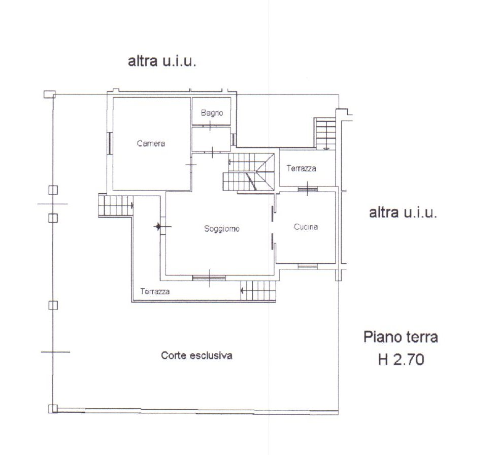 Planimetria /1 per rif. 845