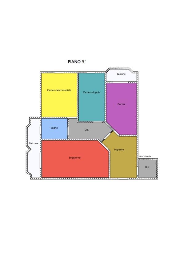 Planimetria 1/1 per rif. 15.113